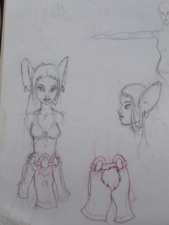 Batgirl sketch 1