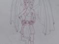 Batgirl sketch 2